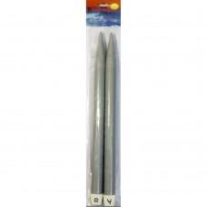 34675 PONY Спицы прямые 40 см 25.00 мм, пластик