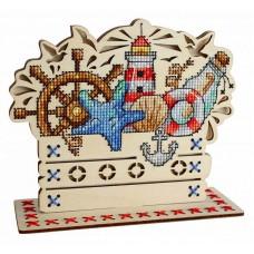 Набор для вышивания Щепка О-037 Морские сокровища 13х15 см