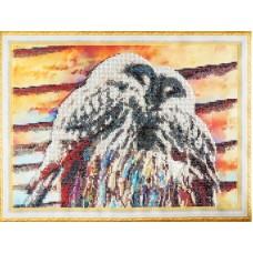 Набор  для вышивания бисером КОЛОР КИТ КК.VS021 Совята 30х40 см