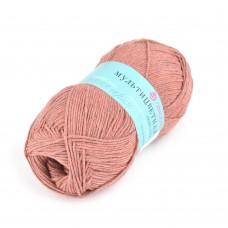 Пряжа для вязания ПЕХ Мультицветная (65% полиэстер, 35% хлопок) 5х50г/180м цв.788 марсала