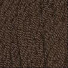 Пряжа для вязания ТРО Стрекоза (100% акрил) 5х100г/80м цв.1253 молочный шоколад