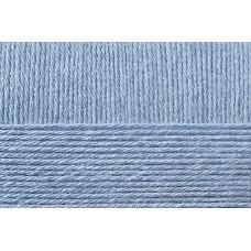 Пряжа для вязания ПЕХ Школьная (100% акрил) 5х50г/150м цв.005 голубой
