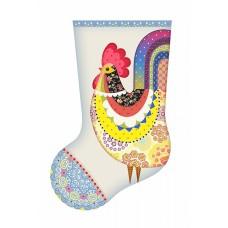 Набор для шитья и вышивания носочек МП-19х30 - 8322 Сказочный петушок