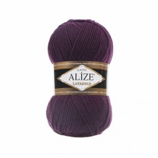Пряжа для вязания Ализе LanaGold (49% шерсть, 51% акрил) 5х100г/240м цв.111 фуксия
