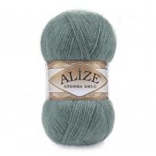 Пряжа для вязания Ализе Angora Gold (20% шерсть, 80% акрил) 5х100г/550м цв.164 лазурный