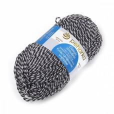 Пряжа для вязания ПЕХ Классическое мулине (30% шерсть, 70% ПАН) 5х100г/200м цв.0745 мул. моренго/св.серый