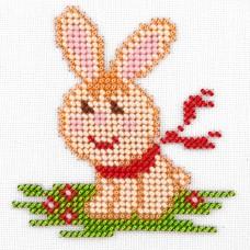 Набор для вышивания бисером LOUISE  L471 Заяц 11х11 см