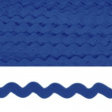 Тесьма декоративная Вьюнчик TBY.64312 шир.5мм цв.F213 синий уп.32,92м