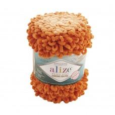 Пряжа для вязания Ализе Puffy Fine Ombre Batik (100% микрополиэстер) 1х500г/73м цв.7296