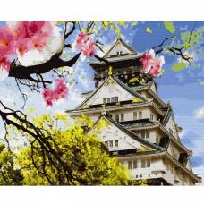Картины по номерам Molly KH0642 Японская весна (28 цветов) 40х50 см