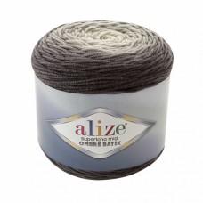Пряжа для вязания Ализе Superlana Midi Ombre Batik (25% шерсть, 75% акрил) 2х300г/510м цв.7290