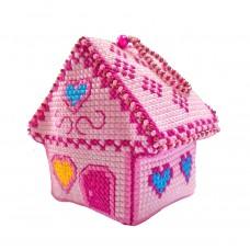 Набор для изготовления игрушки Zengana М-063 Мармеладный домик 8х6х8см