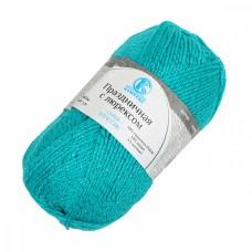 Пряжа для вязания КАМТ Праздничная (48% кашмилон, 48% акрил, 4% метанит) 10х50г/160м цв.083 нефрит
