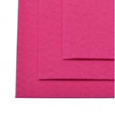 Фетр листовой жесткий IDEAL 1мм 20х30см FLT-H1 уп.10 листов цв.609 ярк.розовый
