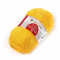 Пряжа для вязания ПЕХ Всесезонная (25% шерсть, 30% хлопок, 45%акрил) 5х100г/320м цв.012 желток