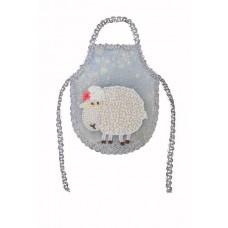 Набор для шитья и вышивания фартук МП-14х18- 8224 Овечка-кудряша