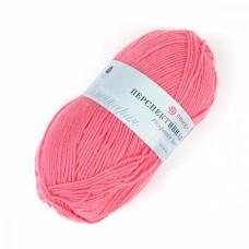Пряжа для вязания ПЕХ Перспективная (50% мериносовая шерсть, 50% акрил) 5х100г/270м цв.011 ярк.розовый