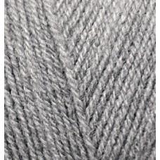 Пряжа для вязания Ализе Superlana TIG (25% шерсть, 75% акрил) 5х100г/570 м цв.021 серый меланж