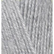 Пряжа для вязания Ализе Sekerim Bebe (100% акрил) 5х100г/350м цв.021 серый меланж