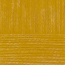 Пряжа для вязания ПЕХ Гламурная (35% мериносовая шерсть, 35% акрил высокообъемный, 30% полиамид) 10х50г/175м цв.447 горчица