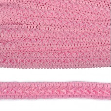 Тесьма TBY декоративная Самоса V02 шир.18мм цв.розовый F134 уп.18,28м