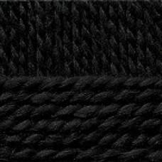 Пряжа для вязания ПЕХ Северная (30% ангора, 30% полутонкая шерсть, 40% акрил) 10х50г/50м цв.002 черный