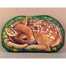 Набор для вышивания PANNA  ПД-7133 Подушка Оленёнок 45х26,5 см