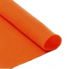 Фетр в рулоне жесткий IDEAL 1мм 100см FLT-H2 уп.10м цв.645 бл.оранжевый