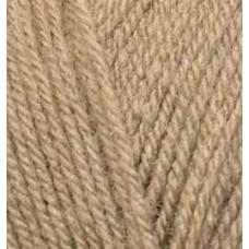 Пряжа для вязания Ализе Superlana TIG (25% шерсть, 75% акрил) 5х100г/570 м цв.584 молочно-коричневый
