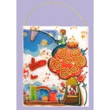 Набор для вышивания декоративных игрушек BUTTERFLY  F502 Подарочный конвертик 12х10 см