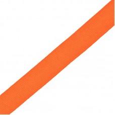 Тесьма TBY в рубчик (шляпная)  TGS20006S шир.20мм цв.оранжевый  уп.50м
