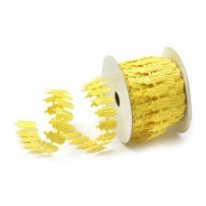 Ленты декоративные TBY.ЛДФ.XL-03.4 шир.20 мм цв.17 желтый уп.9,14 м