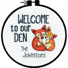 Набор для вышивания DIMENSIONS DMS-72-74881 Добро пожаловать в наше логово