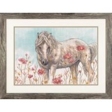 Набор для вышивания DIMENSIONS DMS-70-35396 Дикая лошадь 35,6x25,4 см