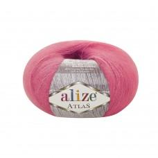 Пряжа для вязания Ализе Atlas (49% шерсть, 51% полиэстер) 10х50г/250м цв.149 фуксия