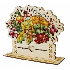 Набор для вышивания Щепка О-019 Осенний Букет 13х16 см