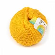 Пряжа для вязания ПЕХ Детский каприз (50% мериносовая шерсть, 50% фибра) 10х50г/225м цв.012 желток