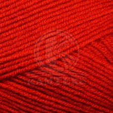 Пряжа для вязания КАМТ Детская забава (20% микрофибра, 80% объемный акрил) 10х50г/140м цв.046 красный