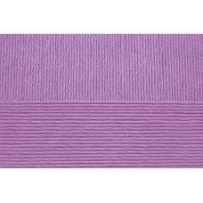 Пряжа для вязания ПЕХ Летняя (100% Мерсеризованный хлопок) 5х100г/330м цв.346 т.сирень