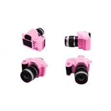 Фотоаппарат со вспышкой КЛ.28361 45х25х50мм, цв.розовый