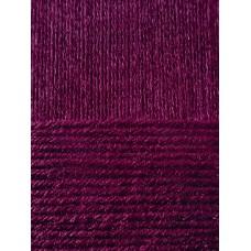 Пряжа для вязания ПЕХ Гламурная (35% мериносовая шерсть, 35% акрил высокообъемный, 30% полиамид) 10х50г/175м цв.040 цикламен