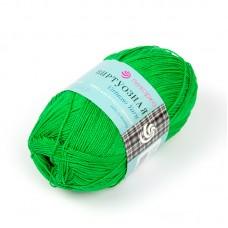 Пряжа для вязания ПЕХ Виртуозная (100% мерсеризованный хлопок) 5х100г/333м цв.434 зеленый
