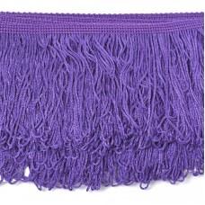 Бахрома шелковая FD-10 шир.10см цв.035 фиолетовый уп.10м