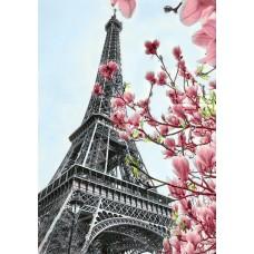 Алмазная мозаика на холсте ГРАННИ Ag055 Символ Парижа 20х30см