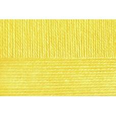 Пряжа для вязания ПЕХ Народная классика (30% шерсть, 70% акрил) 5х100г/400м цв.027 лимон