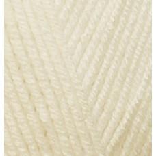 Пряжа для вязания Ализе Baby Best (90% акрил, 10% бамбук) 5х100г/240м цв.001 молочный