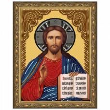 Картина 5D мозаика с нанесенной рамкой Molly KM0801 Господь Вседержитель (8 цветов) 20х30 см