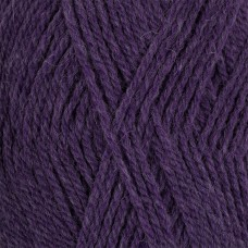 Пряжа для вязания ПЕХ Джинсовый Ряд (50% шерсть, 50% акрил) 10х100г/250м цв.1162 т.фиолетовый меланж