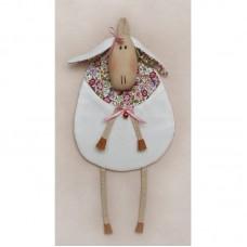 Набор для изготовления текстильной игрушки S001 Sheep Story 34см Ваниль