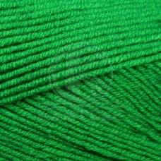 Пряжа для вязания КАМТ Детская забава (20% микрофибра, 80% объемный акрил) 10х50г/140м цв.044 трава